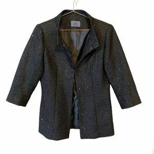 CHANEL Tweed Sequin Blazer Employee Uniform